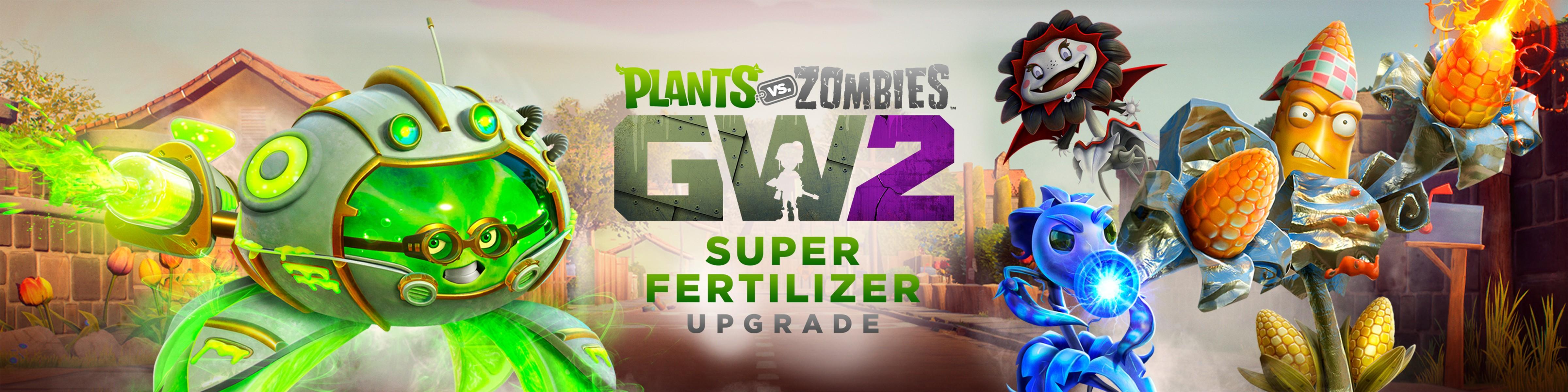 Plants Vs Zombies Garden Warfare 2 Super Fertilizer Upgrade