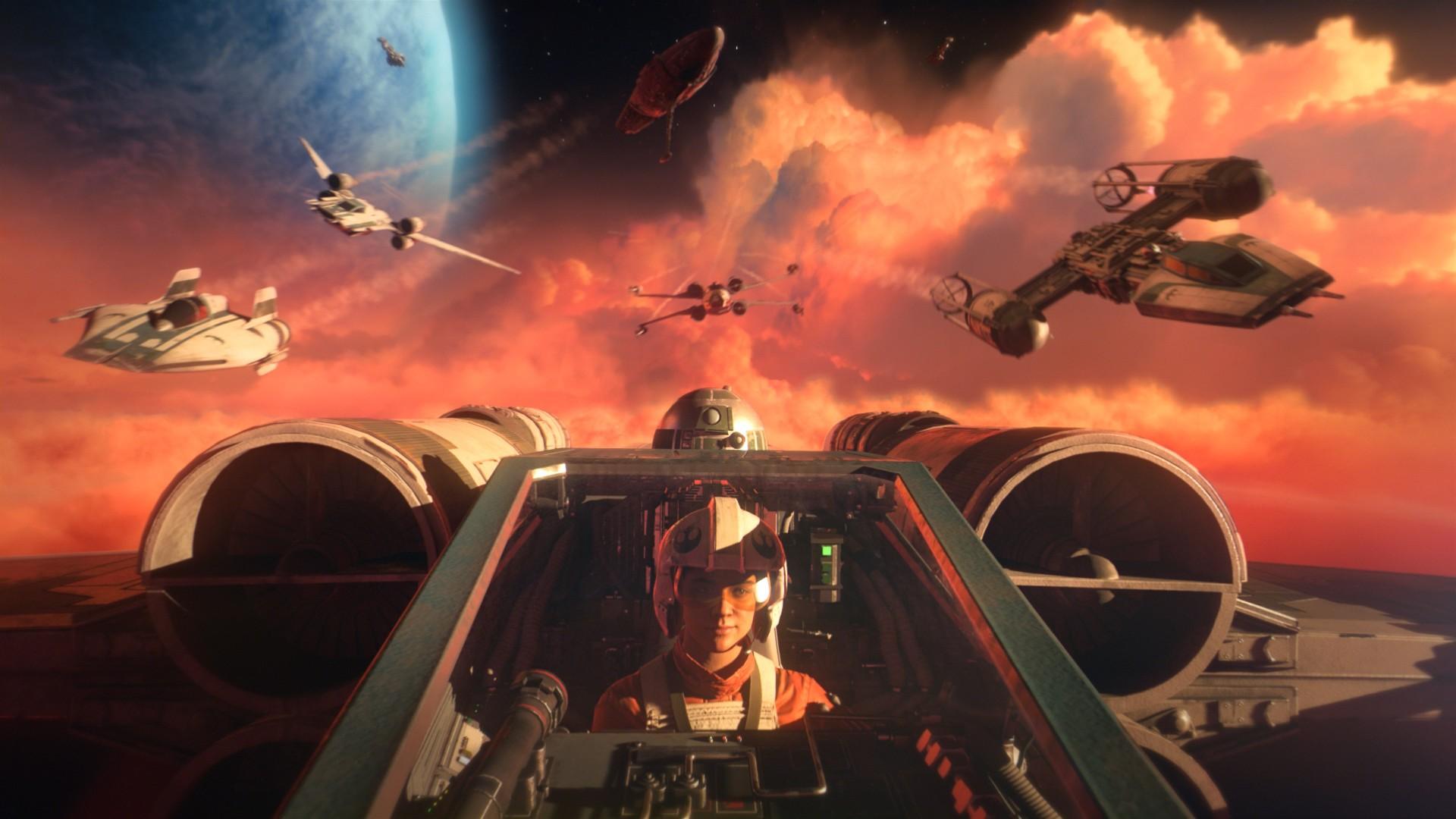 Star wars squadrons e suas aventuras no espaço estão inclusas nas promoções da semana