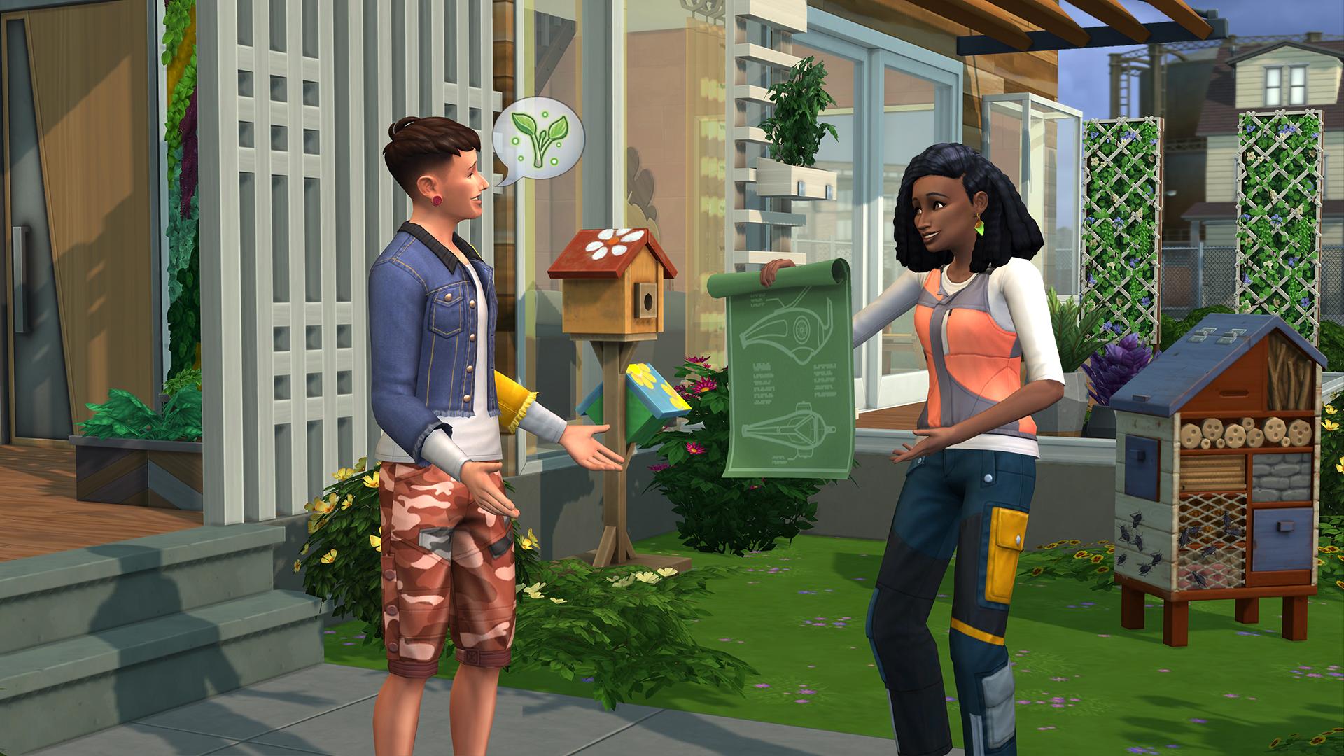 Sims 4: Lass deine Umgebung erblühen
