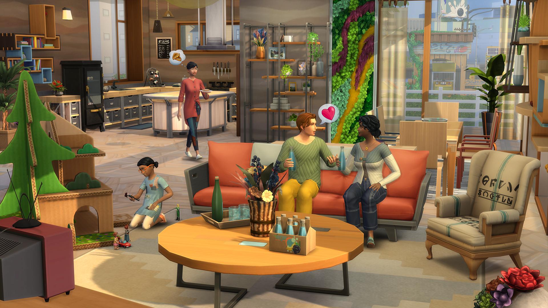 The Sims 4 Eco Lifestyle For Pc Mac Origin