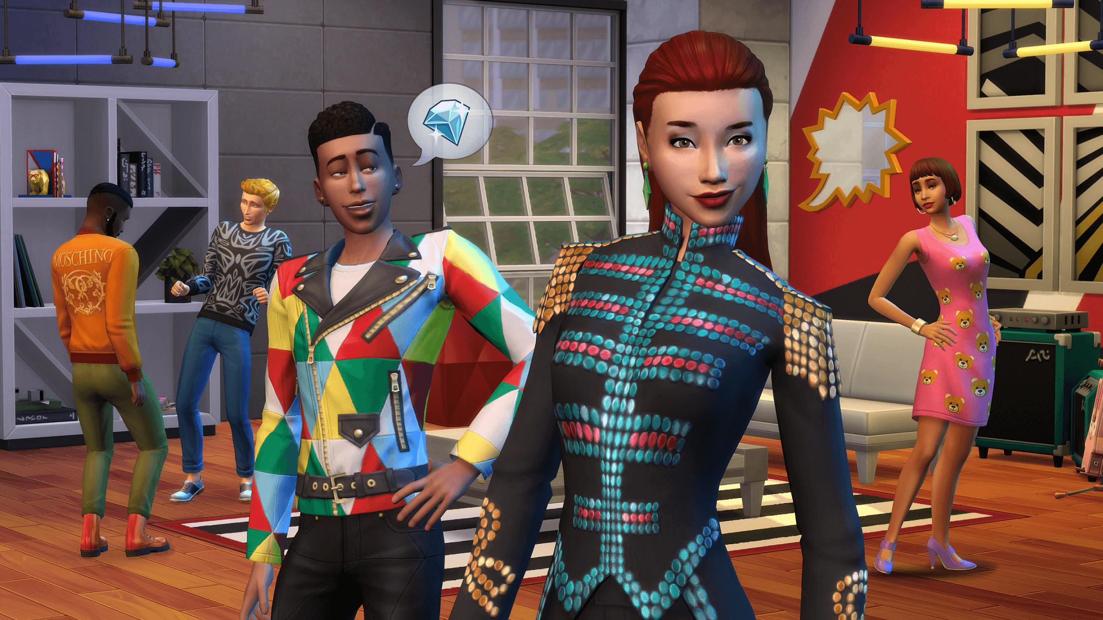 The Sims 4 Moschino Stuff Pack For Pc Mac Origin