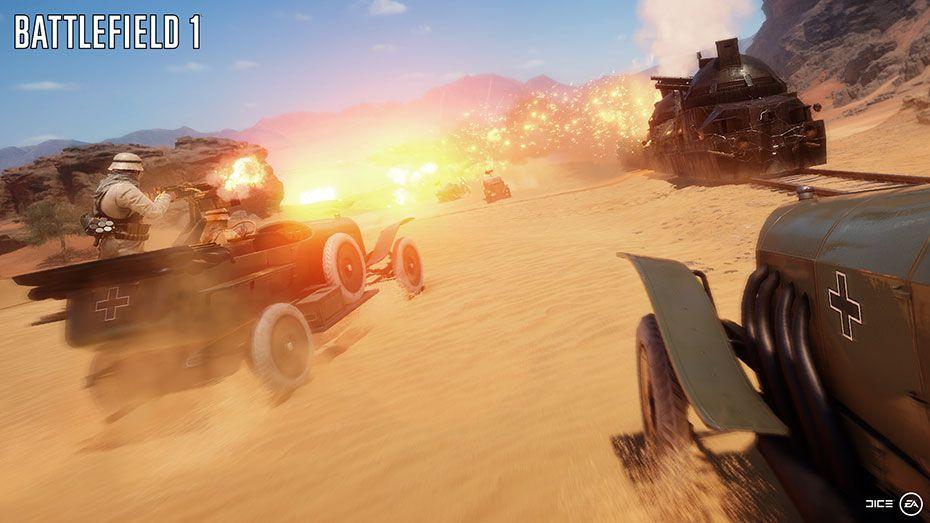 Battlefield 1 online скачать торрент