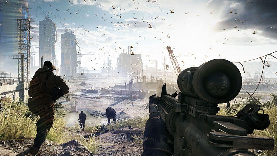 Battlefield 4 скачать торрент на ps3 rus