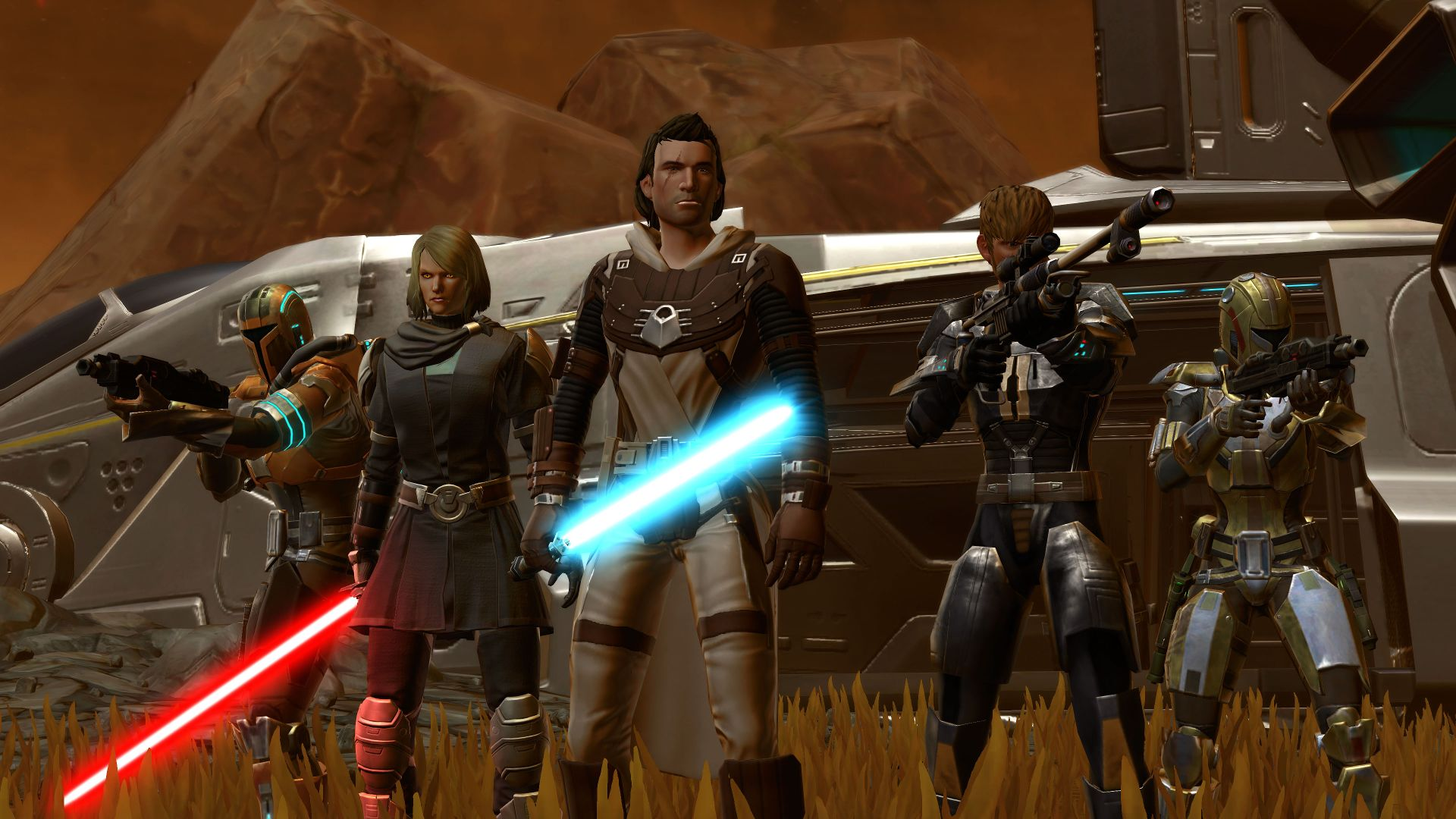 star wars the old republic size of download
