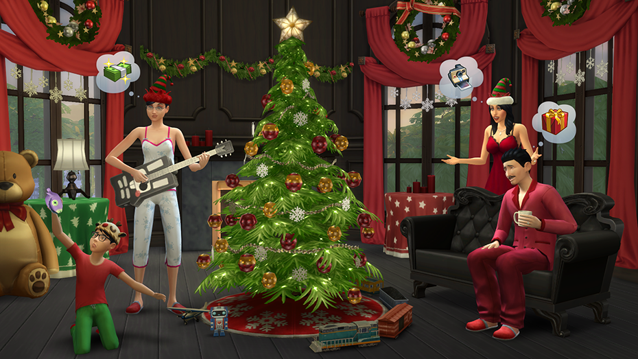 The Sims™ 4 Holiday Celebration Pack for PC/Mac | Origin