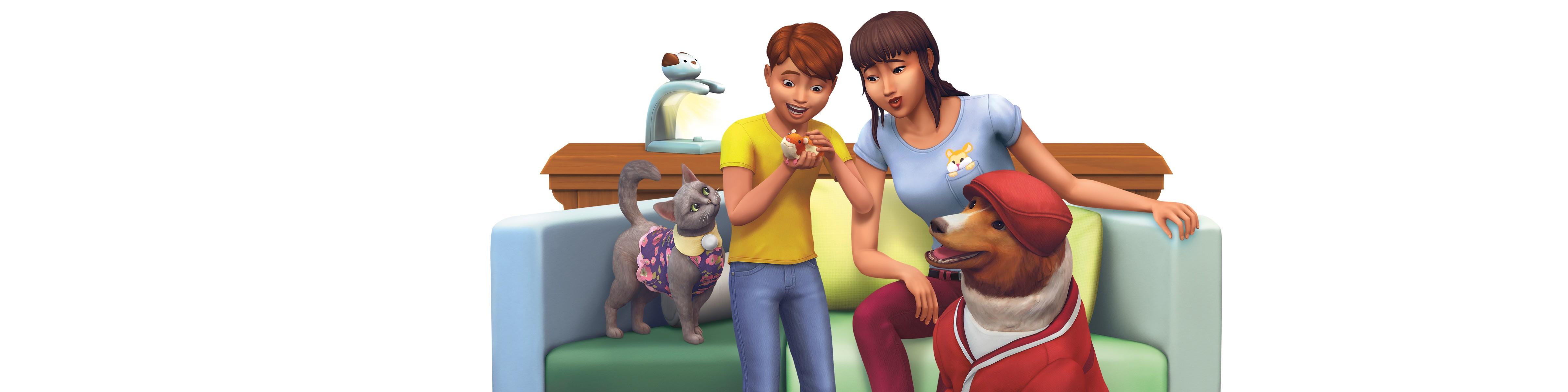 the sims 4 my first pet stuff download ita
