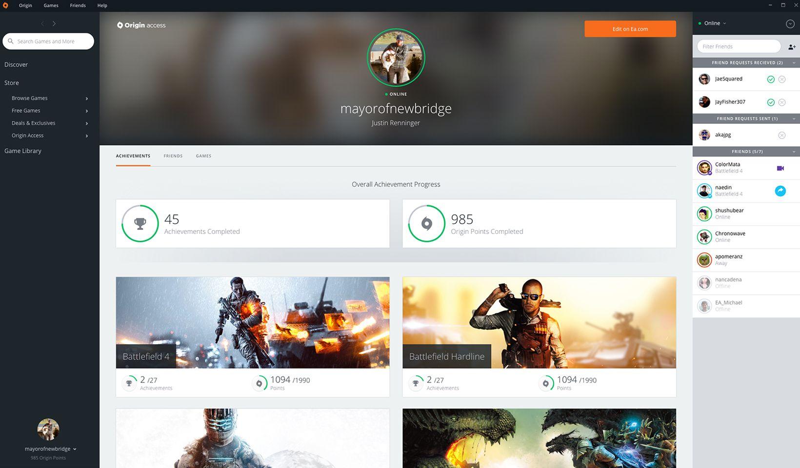 About Origin: Platform made for gaming | Origin