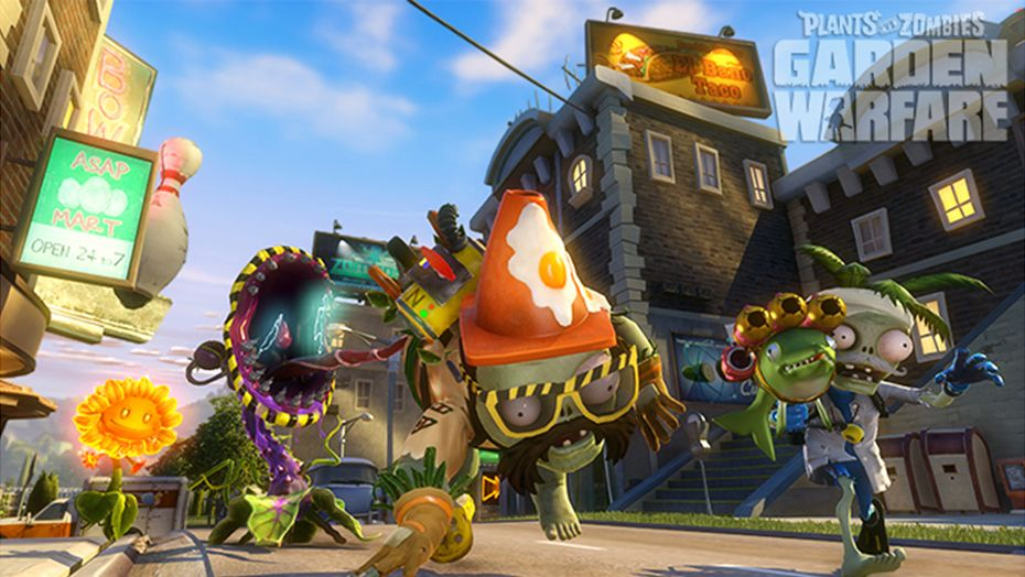 Скриншот игры [Аккаунт] Plants vs. Zombies Garden Warfare